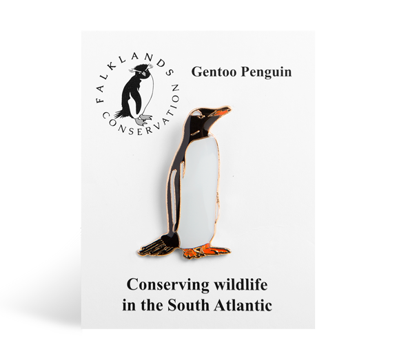 gentoo-penguin-pin-badge
